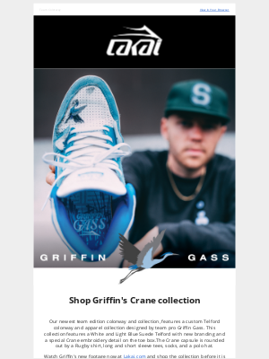 Lakai Footwear - The Telford by Griffin Gass