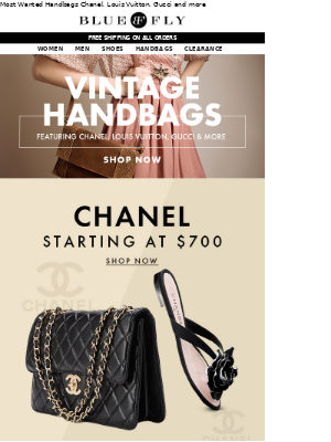 Vintage Handbags Featuring: Chanel, Louis Vuitton, Gucci and more...