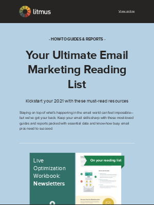 Litmus - 5 resources for email success in 2021