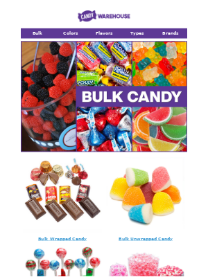 Planning a party? Buy Candy in Bulk! 🍬