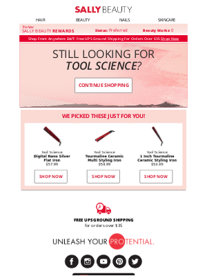 Shop & Save on Tool Science