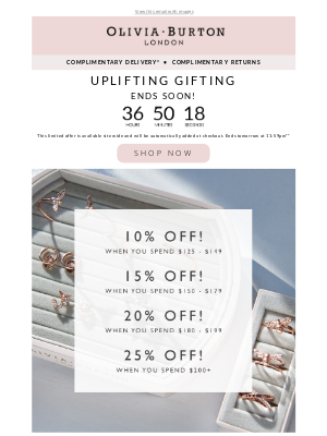 Olivia Burton - Buy more, save more ENDS SOON! ⏰