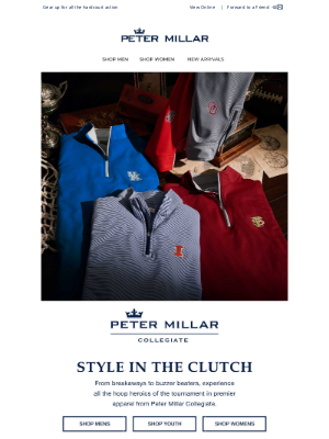 Peter Millar Collegiate: Style In The Clutch