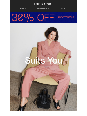Two-piece suits you won't take for granted