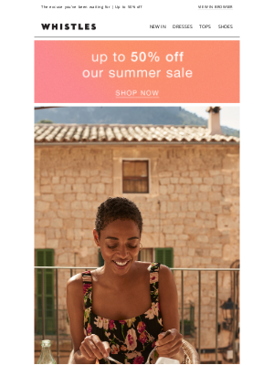 Whistles (UK) - Your favourite dresses are on sale