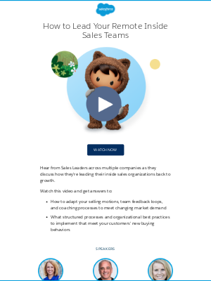Salesforce - How to Lead Your Remote Inside Sales Teams Back to Growth