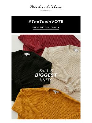 Michael Stars - Fall Favorites | Sweaters & Knits 🧶