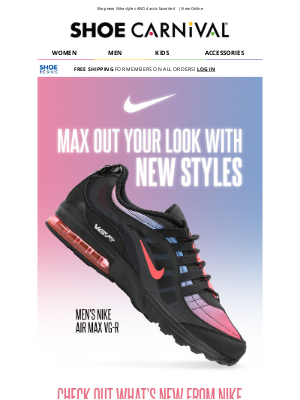 Shoe Carnival - New Nike is here! 🤩