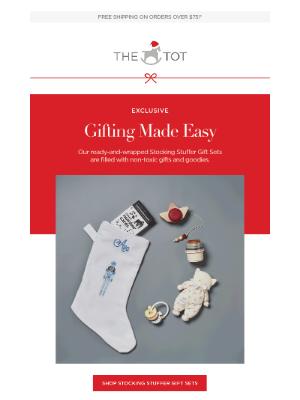 The Tot - Stocking Stuffer Gift Sets Make Gifting Easy! 🎁