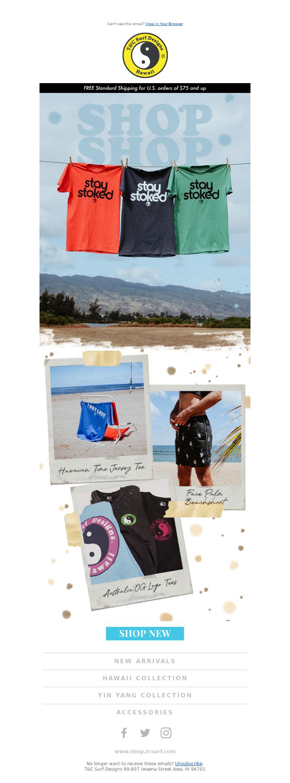 T&C Surf - Meet our unique pieces!