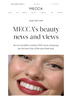 MECCA Australia - The beauty you loved in 2020