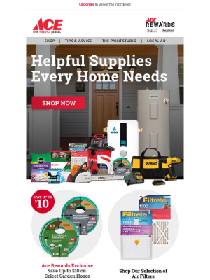 Ace Hardware - 🏠 We Have What Every Home Needs