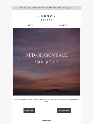 Hudson Shoes - Up to 50% off selected items | Hudson London