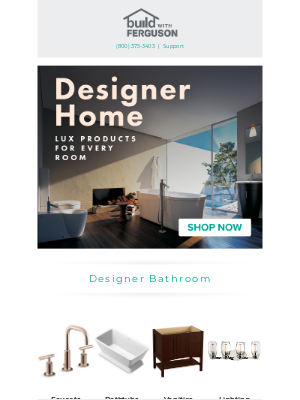 Build - Live in luxury. Designer products made for your home.