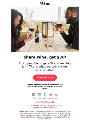 Want $30 extra to spend on wine?