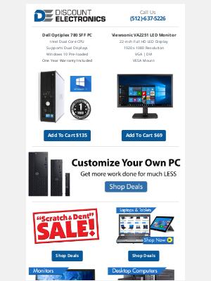 Discount Electronics - $69 ViewSonic 22