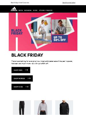 Adidas (UK) - BLACK FRIDAY IS HERE