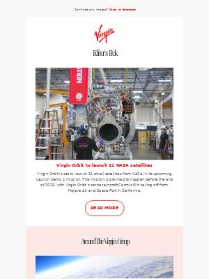 Virgin Orbit to launch 11 satellites for NASA