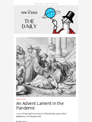 New Yorker - An Advent Lament in the Pandemic