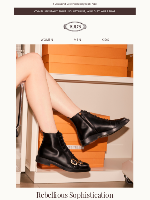 TOD'S - New Arrival: Tod's Winter Boots