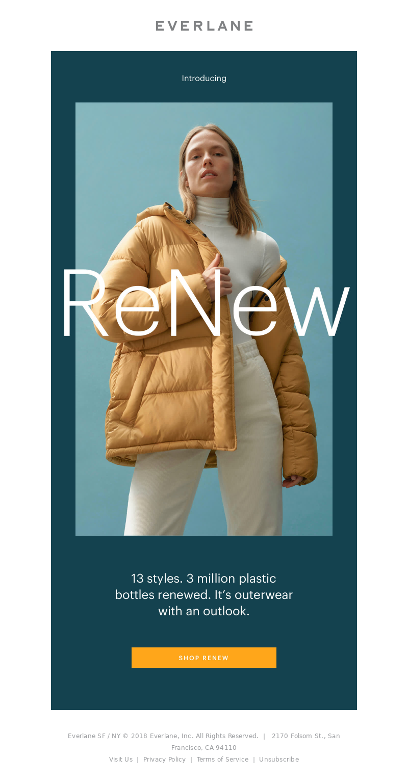 Everlane - The Wait Is Over: ReNew