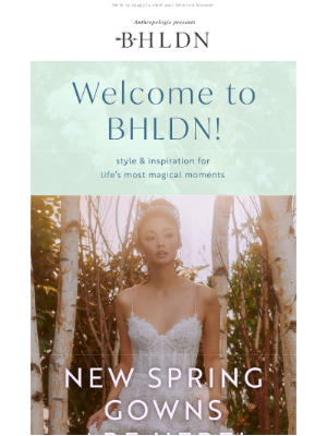 BHLDN - Welcome to BHLDN! Inside: so much to love.