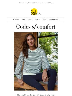 Boden (UK) - Loungewear to love