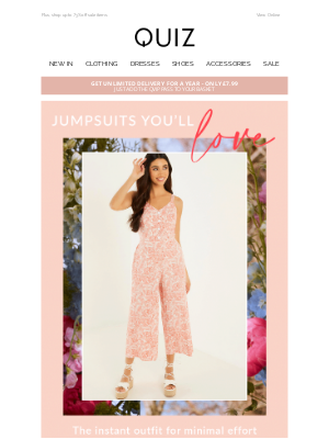Quiz Clothing (UK) - ❤️️ Jumpsuits you'll love