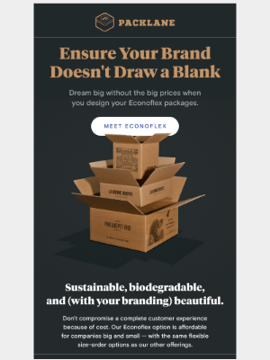 Packlane - Flex your creativity with Econoflex packaging
