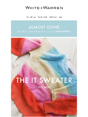 White + Warren - The IT Sweater of the Season