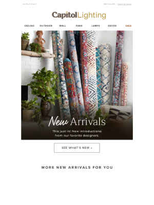Capitol Lighting's 1800lighting - ⊹ New Arrivals from Loloi Rugs + More ⊹
