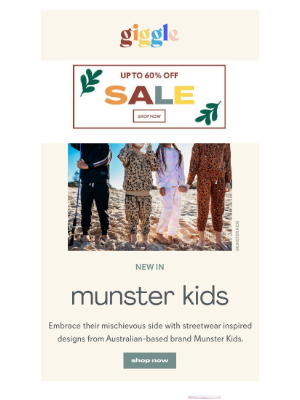 giggle - shop new cool kid style from Munster Kids