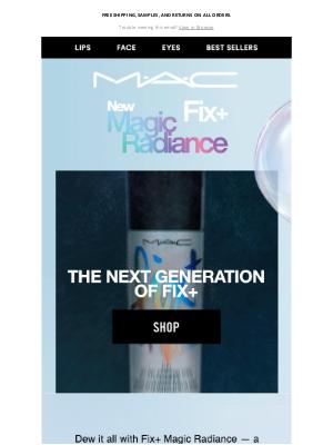 MAC Cosmetics - Need a skincare boost? Glow with Fix+ Magic Radiance!