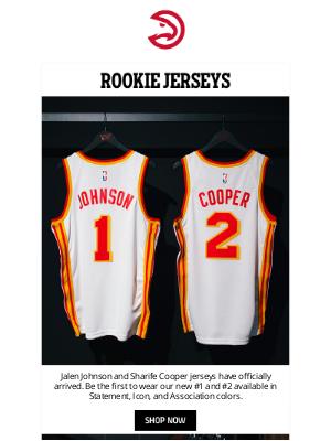 Atlanta Hawks - Rookie Jerseys Available Now
