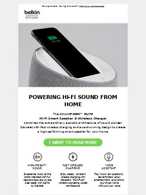 The Smart Speaker that's Powering High Fidelity Sound