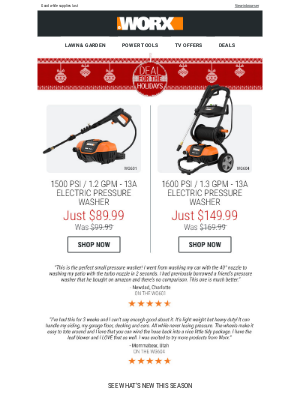 A Deal for the Holidays: $89.99 or $149.99