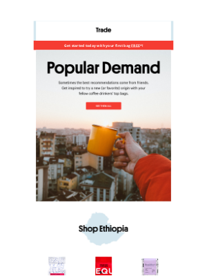 Trade Coffee - Our Most Popular Single Origins