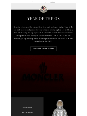 Moncler USA - Year of the Ox