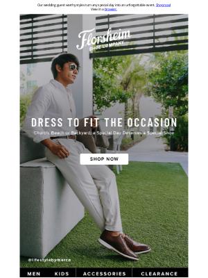 Florsheim Shoes - It's Wedding Season!