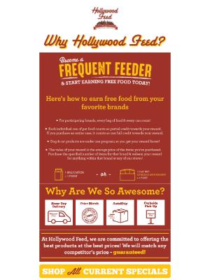 Hollywood Feed - Why Hollywood Feed?