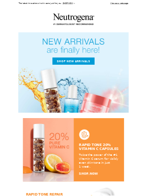 Neutrogena - Stop what you're doing, our NEW products have arrived!