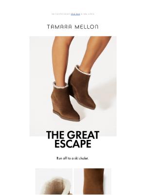 Tamara Mellon - The Great Escape