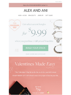 Alex and Ani - Inside: Ready-to-gift sets for every type of ❤️