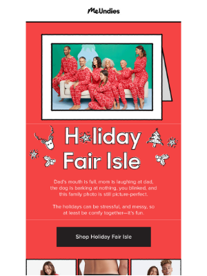 It's That Time of Year, Holiday Fair Isle is Here ❄