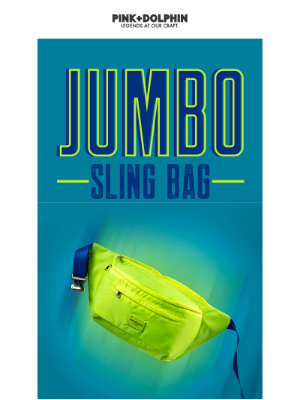 Coming Soon! Jumbo Sling Bag Details Are Here!