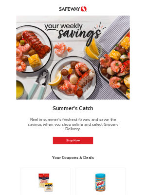 Your Weekly Savings
