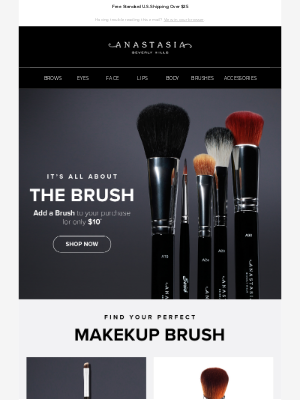 Anastasia Beverly Hills - Add a Brush for Only $10!