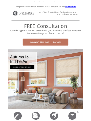 3 Day Blinds - 🍂Unbe-LEAF-able Styles Customized To You!