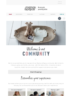 Mamas & Papas (UK) - Welcome To Our Community