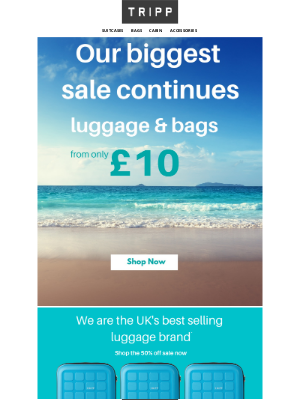 Tripp (UK) - 🌞Get Summer ready - Our biggest sale continues